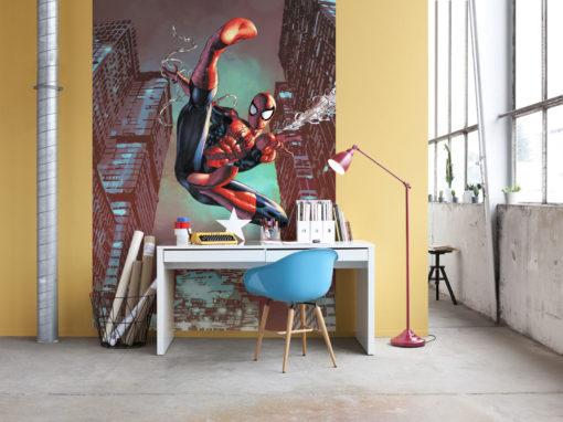 Fototapet Marvel Spider-Man Jump 4-459 Interior