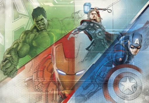 Fototapet Marvel Avengers Graphic Art