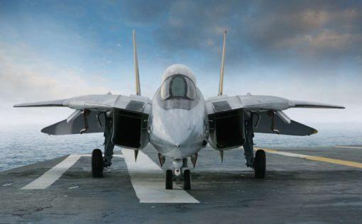 Fototapet 3D Avion de lupta 01