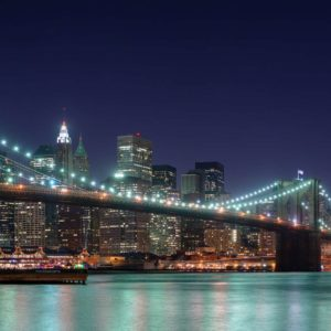 New York Podul Brooklyn Tapet Foto