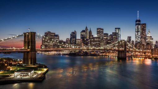 Tapet Foto Podul Brooklyn Bridge 09