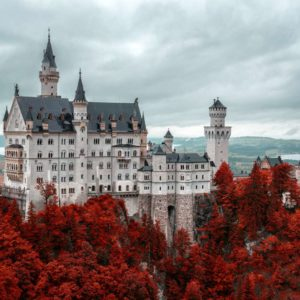 Fototapet Castel 08 - Castelul Neuschwanstein