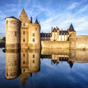 Fototapet Castel 10 - Castelul Sully-sur-Loire