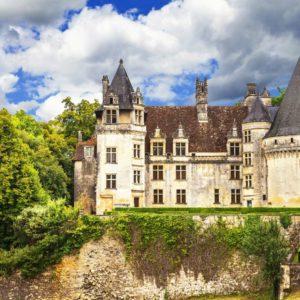 Fototapet Castel 16 - Castelul Puyguilhem