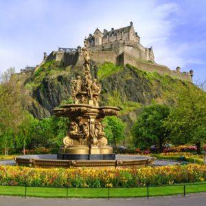 Fototapet Castel 19 - Castelul Edinburgh