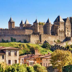 Fototapet Castel 25 - Castelul Cité De Carcassonne