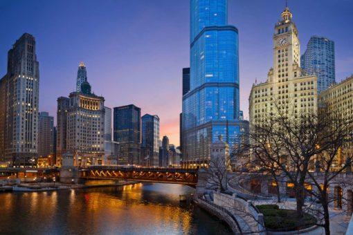 Fototapet Chicago 01