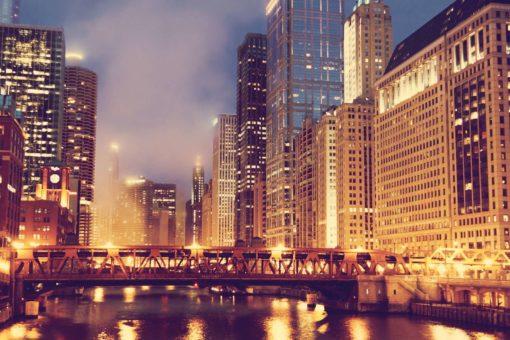 Tapet Foto Chicago 02