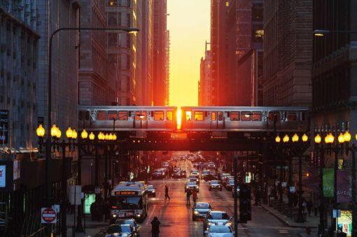 Fototapet Chicago 04