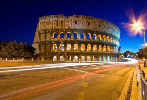Tapet Foto Italia Roma Colosseum 02