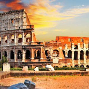 Fototapet Colosseum 06 - Italia, Roma