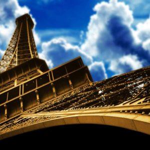 Tapet 3D Turnul Eiffel 04