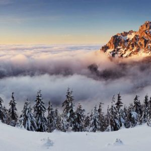 Tapet Foto 01-0155 - Peisaj Montan Panorama Zapada Nori Brazi