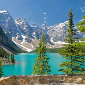 Peisaj Montan 01-0188 - Fototapet Lac Brazi