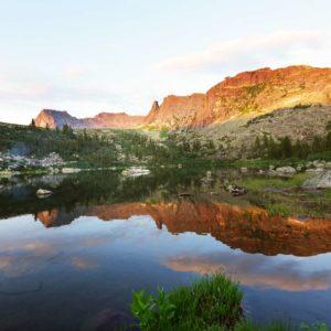 Peisaj Montan Fox-01-0196 Lac Reflexie