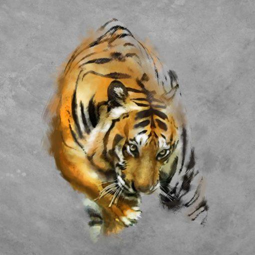 Fototapet Desen Tigru Fox-17-0228