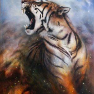 Fototapet Desen Artistic Tigru Fox-17-0229