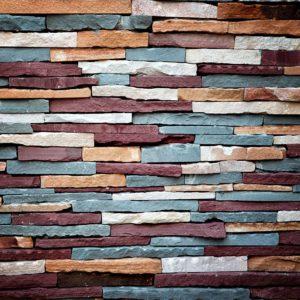 Fototapet Textura Caramida Colorata Fox-21-0108