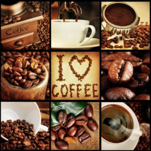 Tapet Foto Colaj Imagini Cafea Fox-25-0111