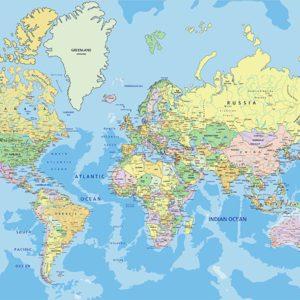 Tapet Foto Harta Lumii 04