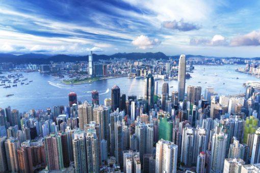 Tapet 3D Hong Kong 04