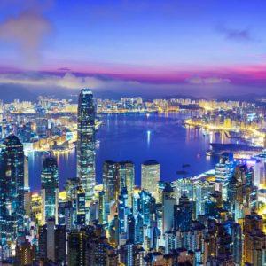 Tapet 3D Hong Kong 05
