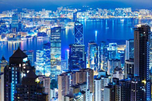 Fototapet 3D Hong Kong 06