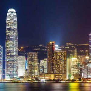 Fototapet Hong Kong 10