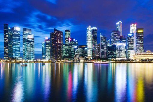 Tapet 3D Hong Kong 11