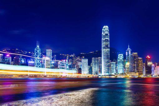 Fototapet 3D Hong Kong 12
