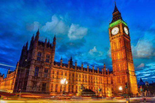 Tapet Foto 3D Londra Big Ben Clock