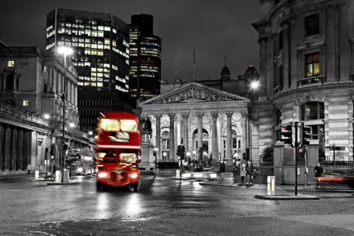 Tapet Foto Anglia Londra Autobuz