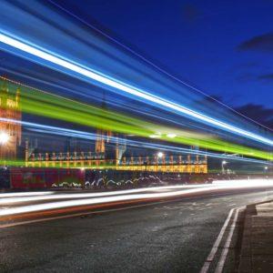 Fototapet Londra Big Ben Trafic Expunere