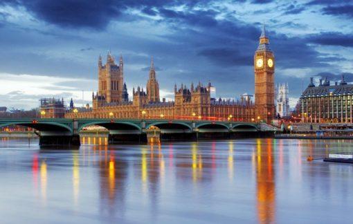 Fototapet Londra 10 - Big Ben - Tamisa