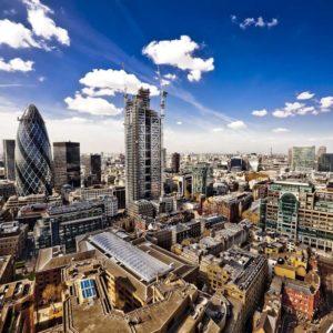 Anglia Tapet 3D Londra