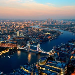 Fototapet Aerial Londra 14 Anglia