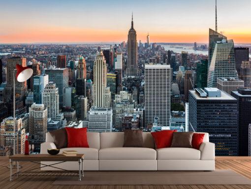 Fototapet New York 03 Simulare Living Room