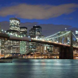 Tapet Foto New York - Podul Brooklyn 10