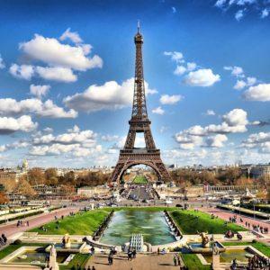 Orasul Paris - Fototapet 3D