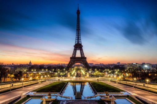 Paris 04 - Imagine Tapet Foto Rasarit
