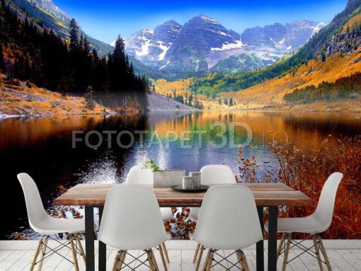 Peisaj Montan Fox 01 0181 - Tapet Personalizat