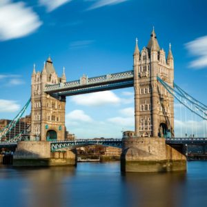 Podul Tower Bridge - Anglia - Londra - Tapet Fotografic 06