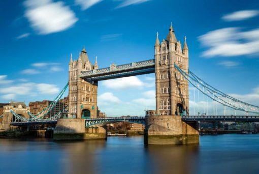 Podul Tower Bridge - Anglia - Londra - Tapet Fotografic 06