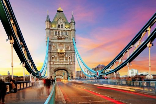 Podul Tower Bridge Londra, Anglia, Fototapet 3D