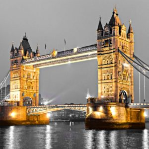 Tower Bridge 10 - Pod Londra - Tapet Foto 3D