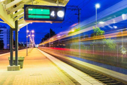 Fototapet gara trenuri 02