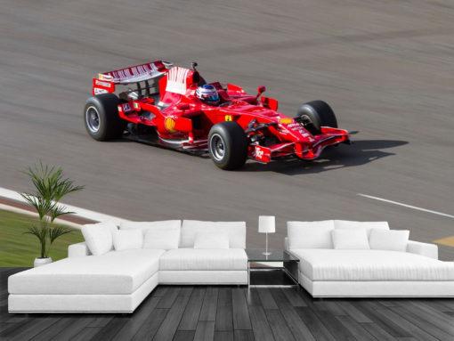 Tapet 3D Masina Formula 1