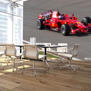 Fototapet 3D Masina Formula 1