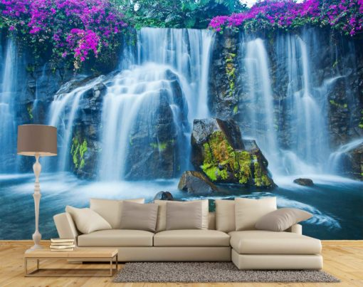 Fototapet 3D Cascada 42 - Design Interior Living Room