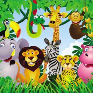 Fototapet cu animale pentru copii 08